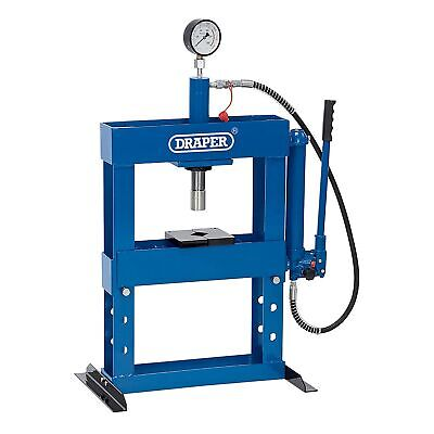 Draper Workshop 10 Tonne Hydraulic Bench Press & High Pressure Pump - 10582
