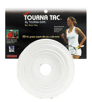 Tourna Tac XL Pro 30 pack tennis racquet racket over grip - badminton squash