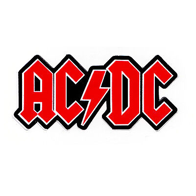 AC/DC Punk Rock Metal Music Band Guitar Bumper Car Window Bike Sticker decal New