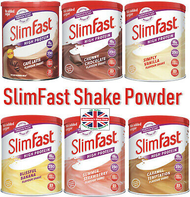 SlimFast Shake Powder 438g (Various Flavours) *BRAND NEW*