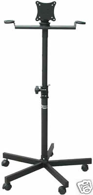 TV Monitor Stand AST420X with 5 wheels for Flat TV