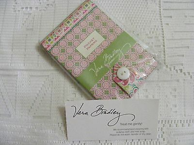 Vera Bradley PINWHEEL PINK Pocket Papers NOTEPAD for Purse TOTE Backpack,   NWT~
