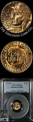 1915-S Pan-Pac Commem Gold $1 PCGS MS66