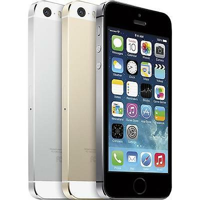 Apple iPhone 5s - 16GB (Factory GSM Unlocked) Smartphone - Gold - Silver - Gray
