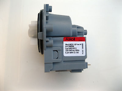 Ariston Hotpoint Washing Machine Water Drain Pump P/n C00145315  Original