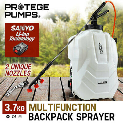 NEW PROTEGE 18V Garden Weed Sprayer Electric Battery Backpack 15L Portable Spot