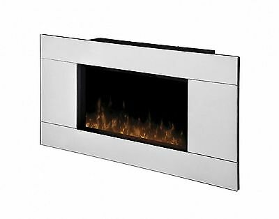 "Dimplex Wall Mount Reflection 24"" Glass Front Mirror Fireplace - DWF24A-1329"