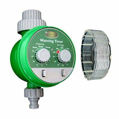 Automatic Electronic Water Timer Garden Hose Plant Watering Irrigation System