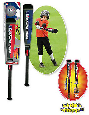 Franklin Powerhouse Adjust-A-Hit Baseball / Softball / Tee Ball Bat & Foam Ball