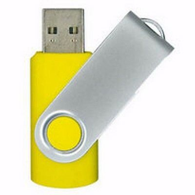 2GB USB Stick - GELB - Flash Drive Memory Stick