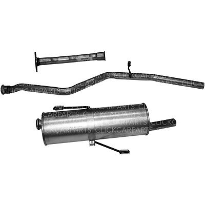 Exhaust System for Peugeot 206 1.1I 1.4I 1998-2000 Front Centre Rear