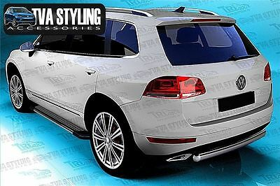Vw Touareg R-Line 2003-15 Side Steps Running Boards C7