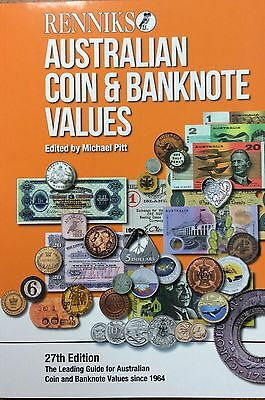 Renniks Australia coin banknote book 27th edition 52nd year published soft cover
