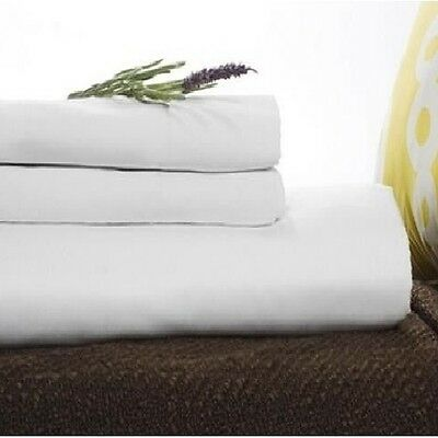 """Twin XL Fitted Premium Hotel Bed Sheet 36""""x80""""x9"""" T180 Percale - Set of 2"""