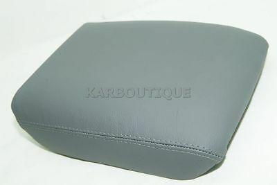 Armrest Cover for 03-08 Honda Pilot Leather Center Console Lid Gray