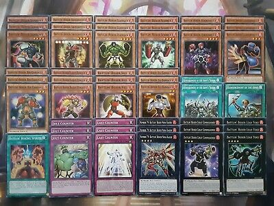 Yugioh Tournament Ready to Play Battlin' Boxer 49 Card Deck Complete Lead Yoke