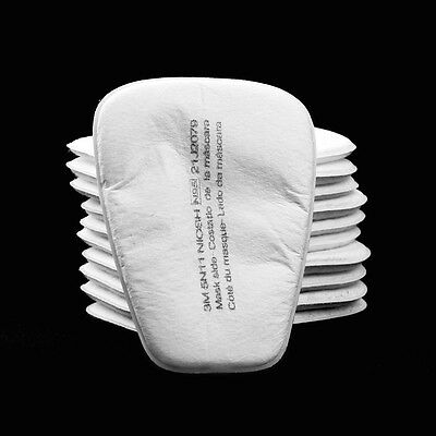 20/30/50 Pcs 5N11 Particulate Cotton Filter Face Gas Mask For 3M 5000,6000,7000
