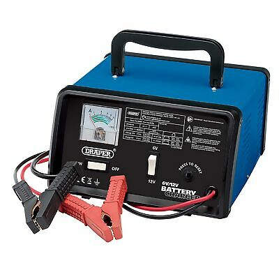 Draper Garage / Workshop 6 / 12V 5.6A Battery Charger / Booster - 20487