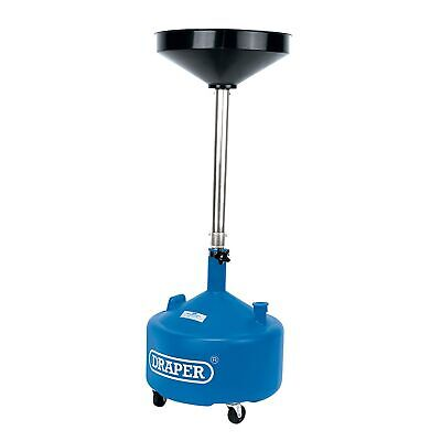 Draper 30L Telescopic / Height Adjustable Oil Drainer With Funnel - 23612