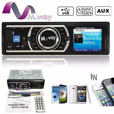 Coche Reproductor Transmisor MP3 Player  FM Radio Audio WMA/USB/SD/AUX USB LCD