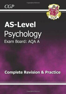 AS-Level Psychology AQA A Complete Revision & Practice (..., CGP Books Paperback