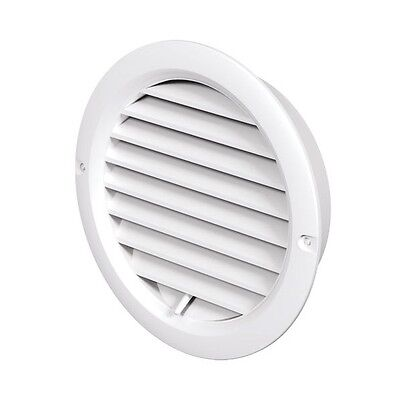 Adjustable Circle Air Vent Grille Cover 100/125mm Ducting Ventilation Cover Fan
