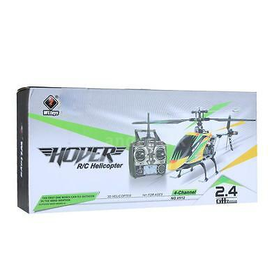 Wltoys V912 Large 4Ch Single Blade Rc Remote Control Helicopter W/gyro Hot E0E2