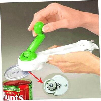 7 In 1 One Touch Kitchen Can Opener Bottle Jar Do As Seen On TV Knife Slicker AG