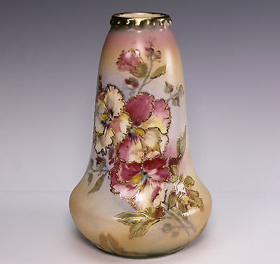 Antique Royal Bonn Floral Porcelain Vase