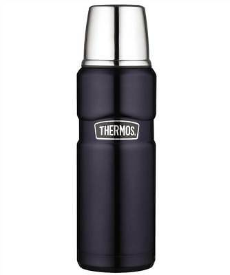Thermos Stainless Steel Blue King Drinks Flask 0.47 Litre - Brand New