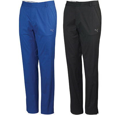 Puma Golf 2014 Mens Cotton Style Pant Flat Front Stretch Trousers