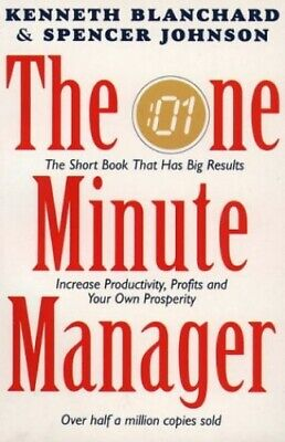 One Minute Manager by Johnson, Spencer Paperback Book The Cheap Fast Free Post
