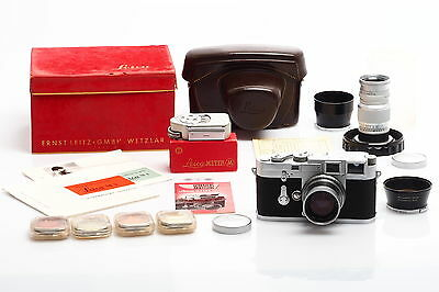 Leitz / Leica M3 Chrome Double Stroke Outfit w. Box