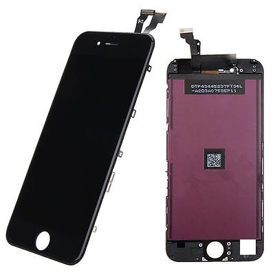iPhone 6  Black Lcd Display Screen Touch Digitizer Replacement Assembly