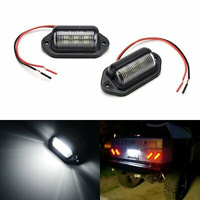 LED Lamps For Truck SUV Trailer Van As License Plate, Step Courtesy, Dome Lights