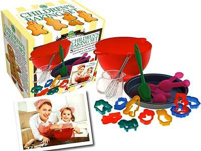 *NEW* Children's Baking Set 18pc - real kitchen play - cakes cookies - pan cup