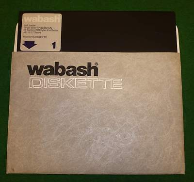 NEW / NOS_Wabash_(U.S.A.)_8 inch_Floppy_Disk_[=T=]