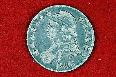 1826 Capped Bust Silver Half Dollar LOT #D0