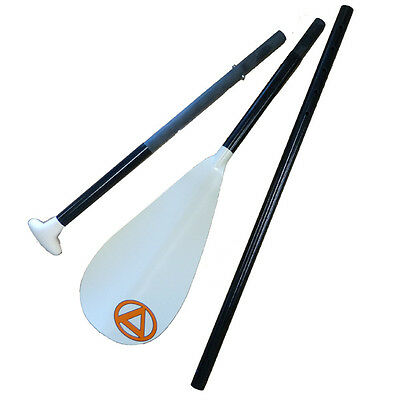 """Accent's MAX FG Fiberglass 3pc Breakdown 74-82"""" Adjustable SUP Paddle only 34oz!"""