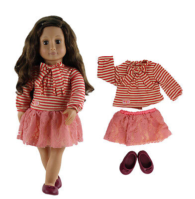 Doll Clothes for 18'' American Girl Handmade Clothes Costume G04