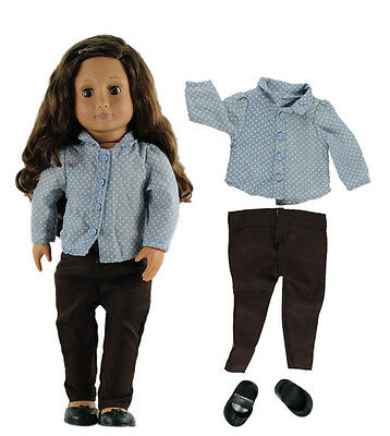 Doll Clothes for 18'' American Girl Handmade Clothes Costume G05