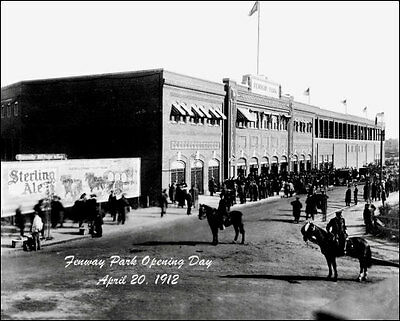 1912 Fenway Park Opening Day Photo 8x10 - Boston Red Sox  Buy Any 2 Get 1 FREE