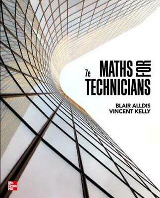 Mathematics for Technicians 7th Edition by Blair K. Alldis Paperback Book Free S