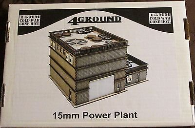 4Ground 15S-CWG-107 15mm Cold War Gone Hot Power Plant Building Terrain Scenery