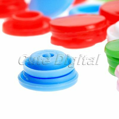 100Pcs Resin Snaps Buttons Popper Press Stud for Baby Clothes Bib Diaper T5 Size