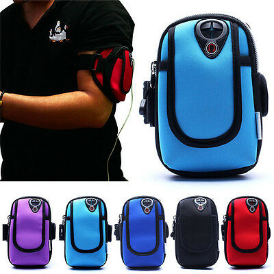 "Sports Jogging Runnig Arm Band Holder Pouch Case Cover 4.7"" Mobile Phone iPhone"
