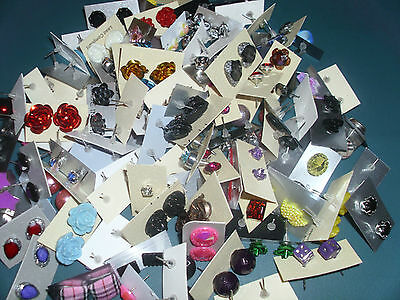 **Special Offer ** Wholesale Lot Stud Earrings 50 Pairs