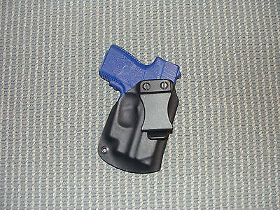 Kahr CM9,  PM 9 With Crimson trace laser  Kydex IWB Holster Black Right  Hand