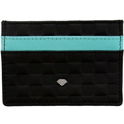 Diamond Supply Co Checker Card Holder Wallet (black)