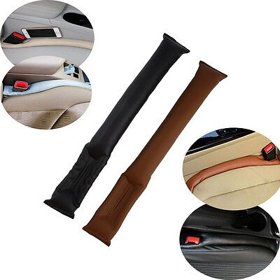 Car Seat Crevice Gap Stopper PU Leather Leakproof Protector car seat pad Cleaner
